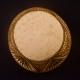 Pyrographed drum calabash