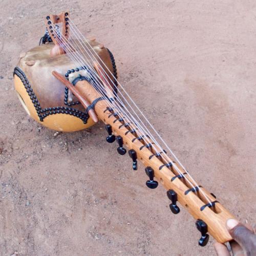 Kamélé n'goni miniature 12 cordes