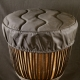 Blacksmith wood djembe
