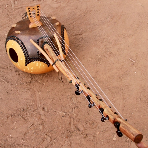Donso n'goni with tunings pegs