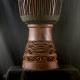 Blacksmith wood djembe