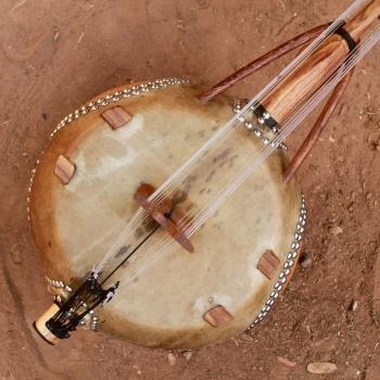 """12 String Kamele N'goni """"Semi Ton"""", piece"""