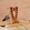 "12 String Kamele N'goni ""Semi Ton"", bridge"