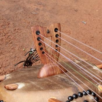 Chevalet de kamele n'goni BaraGnouma 10 cordes