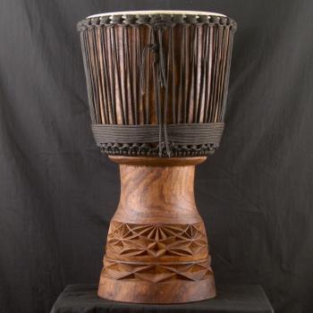Djembe haut de gamme en bois de balafon BaraGnouma