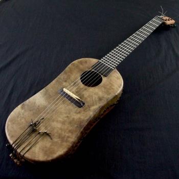 Djelitare, djeli avec un manche de guitare, BaraGnouma