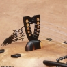 14-string Ebony Kamele n'goni, BaraGnouma, bridge