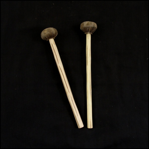 Pair of miniature sticks for balafon