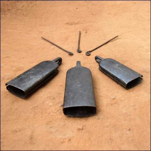 Set de cloches de Baro, Mandingue, Hamana, Guinée, Originale
