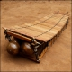 Diatonic balafon bass 22 keys